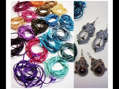 Review BeadsPerles | Orecchini a Soutache