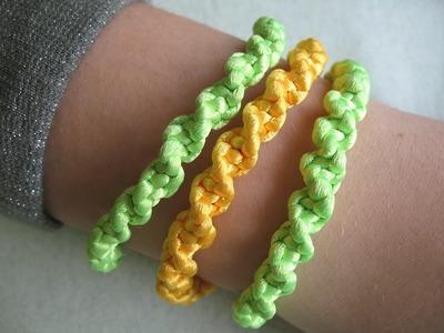 Come fare braccialetti intrecciati a spirale
