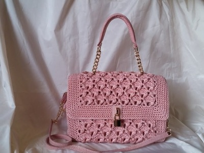 Punto Papaya uncinetto - Tutorial borsa crochet