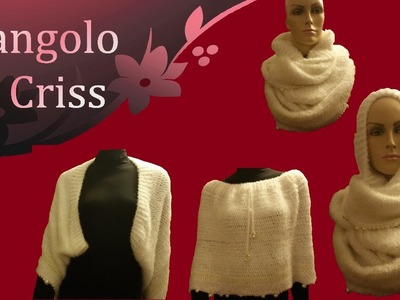 "Sciarpa all'uncinetto "" Infinity & magic"" -  crochet  scarf - bufanda de ganchillo"
