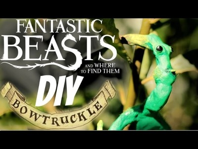 [SUB ENG] ANIMALI FANTASTICI E DOVE TROVARLI - DIY BOWTRUCKLE (PICKETT)