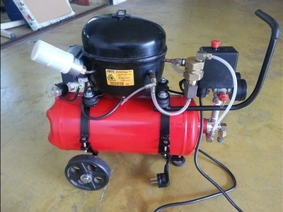 DIY - Mini Silent Air Compressor