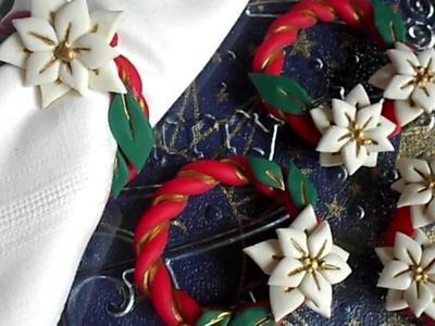 STELLA DI NATALE || DIY || anello porta tovaglioli  | #1