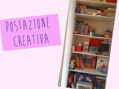 POSTAZIONE CREATIVA - Craft Area | Speciale 1.000 iscritti