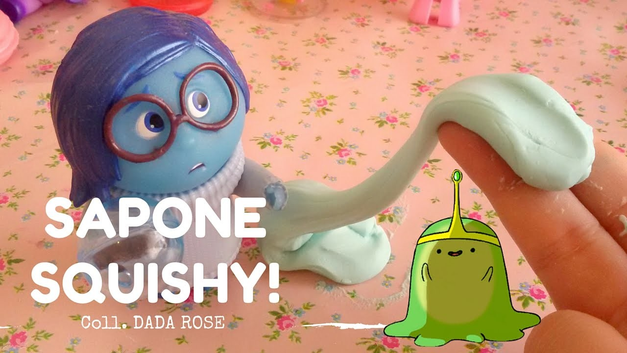Squishy And Slime : SAPONE SQUISHY e SLIME DIY!!! *_* coll. Dada Rose, My Crafts and DIY Projects
