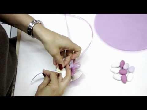 BOMBONIERE FAI DA TE sugar almond almonds flower wedding - Nicolis com
