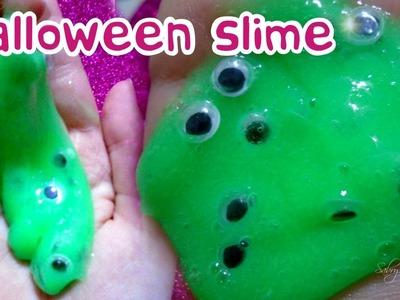 Ci provo anche io !! : Halloween slime :D ( slime tutorial)