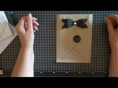 Come crearci dei sacchetti dalle bustine da lettera- Scrapbooking Tutorial | Scrapmary