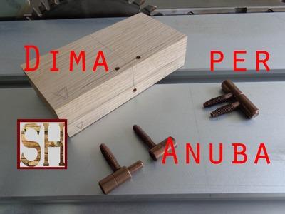 Dima per montare cerniere tipo Anuba a battente - autocostruzione
