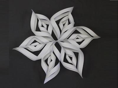 Stella di Natale senza cucire feltro, pannolenci, gomma crepla ,Tutorial Make a Snowflake
