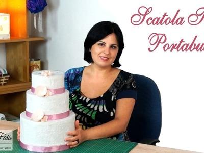 Torta Portabuste fai da te | Tutorial Nozze | Nozzeggiando