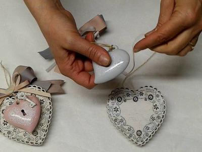 Tutorial bomboniera matrimonio con cuori - ilDettaglio.com