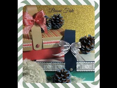 Cestino Pic -Nic idea regalo( preso da Pinterest )- Scrapbooking Tutorial | Scrapmary