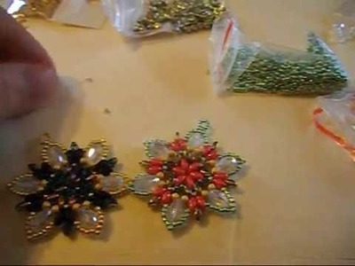 Tutorial orecchini Edelweiss