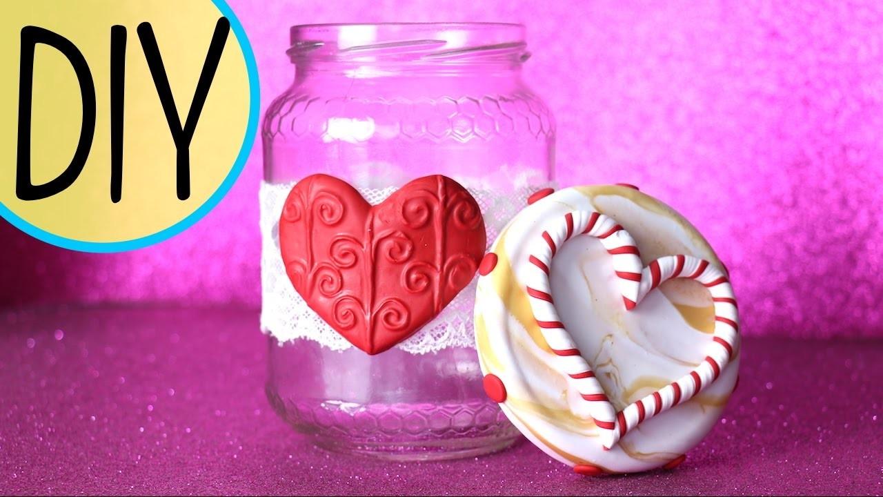 #1 DIY NATALE ♡ FIMO decorazione vasetto! Idea regalo fai da te!