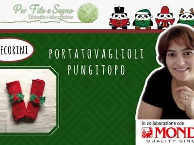 Speciale Natale - Portatovaglioli pungitopo