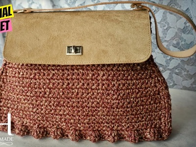 "[BORSE] Tutorial uncinetto borsa ""Priscilla"" | Crochet bag || Katy Handmade"