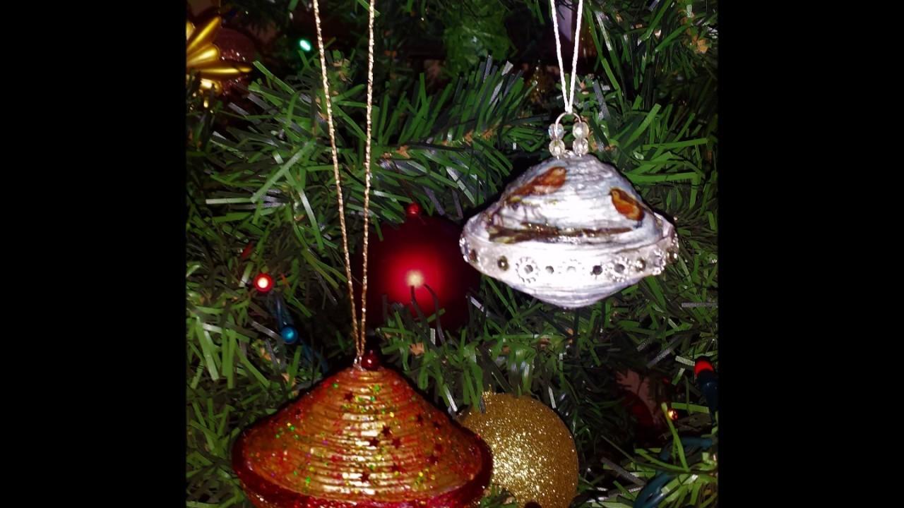 Albero Di Natale Con Cannucce Di Carta.Come Fare Addobbi Natalizi Con Cannucce Di Carta Diy Christmas