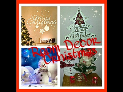 DIY Christmas Room Decor 2016