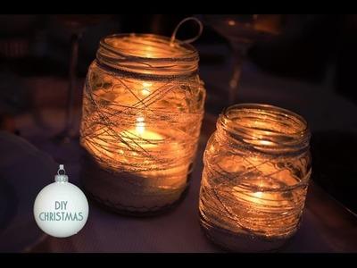 DIY: Lanterna Natalizia Fai da te • Riciclo creativo • Christmas Lantern Crafts