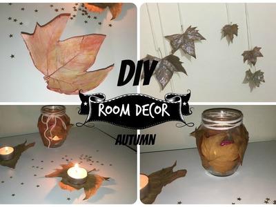 DIY Room Decor Autumn ITA | 3 idee