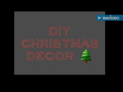 Tutoria di Natale: palline con spago - DIY Christmas Decor