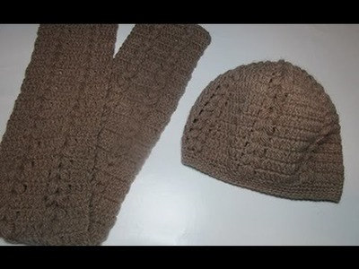 Uncinetto crochet cappello tutorial