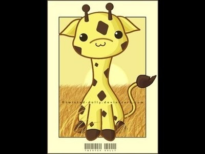 Pyssla Tutorial: Giraffa