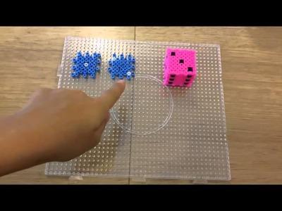 Tutorial dado 3D con le pyssla  - hama beads  !!