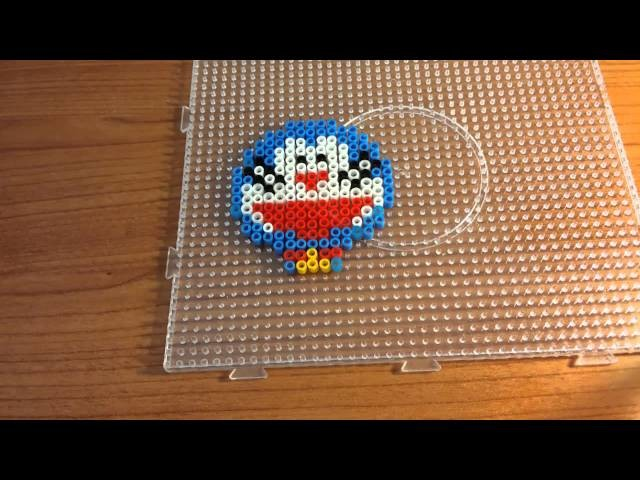 Tutorial Doraemon con le pyssla - hama beads  !!