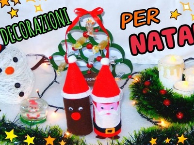 5 DECORAZIONI PER NATALE Fatte in casa (DIY NATALE ROOM DECOR)  Iolanda Sweets