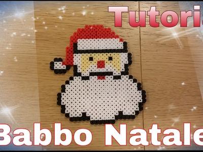 Tutorial Babbo Natale in pyssla - hama beads  !!