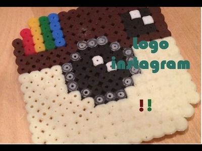 Tutorial-LOGO INSTAGRAM-pyssla (Hama beads)