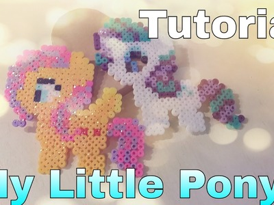 Tutorial My Little Pony in pyssla | hama beads !!!