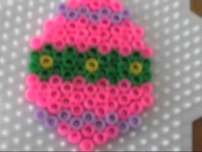 Uovo di Pasqua con Pyssla Tutorial - Pì Creativa