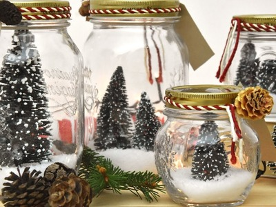 Natale in un barattolo - Decorazioni in casa per le feste
