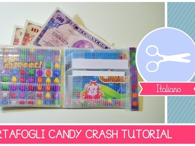 Tutorial COME FARE un portafogli ispirato a CANDY CRUSH SAGA by Fantasvale