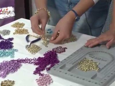 VIDEO #CreattivaChannel la tecnica Chainmail per realizzare orecchini alla moda.