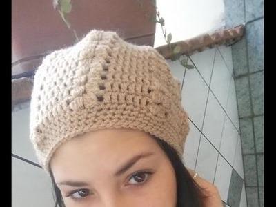 Tutorial cappello fantasia ad uncinetto per adulto (donna)
