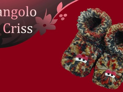 "Babbucce a telaio ""Monterslippers"" - tutorial passo a passo"