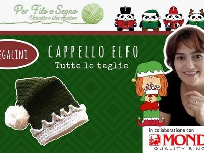 Speciale Natale - Cappellino Elfo (tutte le taglie)