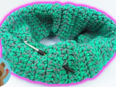 Cucire uno scaldacollo super caldo per l'inverno | davvero facile e vecole con le asticelle