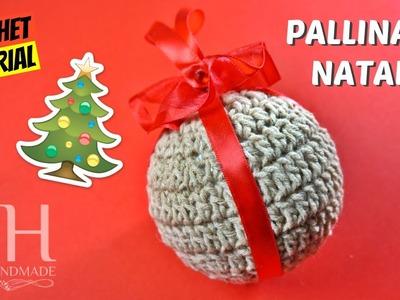 [NATALE] Tutorial pallina di natale ad uncinetto | Crochet Christmas ball || Katy Handmade