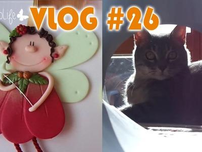 Vlog #26 - Fatina in pasta fimo, flo non vuole giocare
