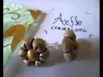 ORECCHINI in fimo e pietre dure - Vi presentiamo le nostre originali creazioni!!!