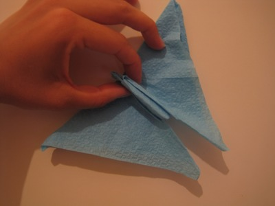 Piegare i Tovaglioli  a Farfalla.How to fold Napkins Butterfly