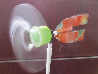Come fare una girandola | bottiglia di plastica | Giocattolo Creazione