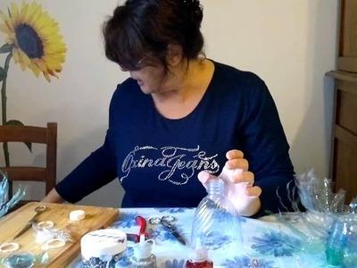 L'Angolo di Maria - 04 - CREAZIONE ALBERINI DI NATALE CON BOTTIGLIE DI PLASTICA