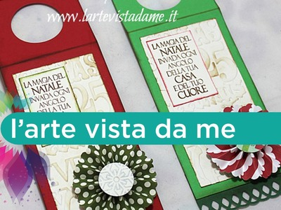 Wine tag Tutorial-Tag bottiglia vino-SCRAP Tutorial-Christmas Packaging-Natale Fai da te