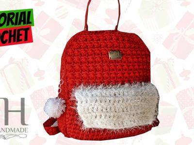 "[BORSE] Tutorial zaino ""Ory"" uncinetto | Punto econocciolina crochet || Katy Handmade"